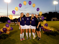 BG Girls' Soccer Senior Night 2015