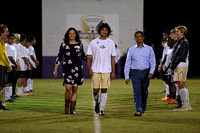 BGHS Boys' Soccer Senior Night 16