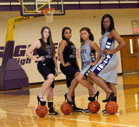 BGHS Girls' Basketball 13-14